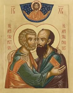 Peter og Paulus - reduced size