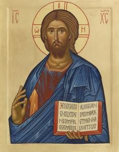 Ikon Kristus Pantokrator - O. G. Svele