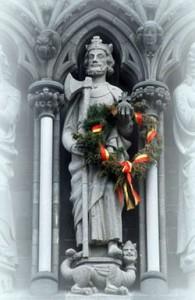 Hellig Olav på Nidarosdomens vestfront