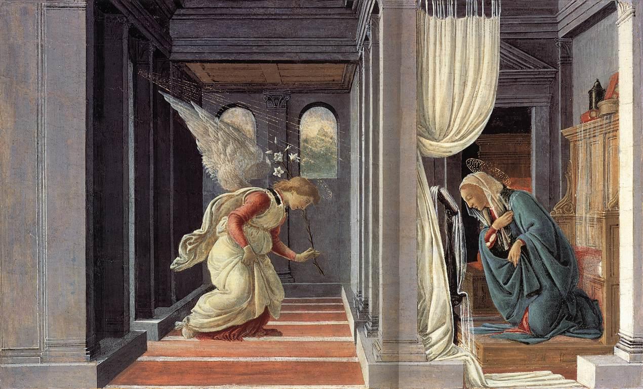 Botticelli - Annunciation