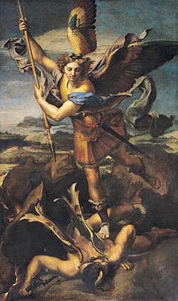 St. Mikael og dragen